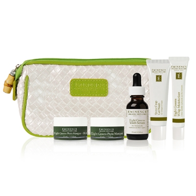 Eminence Organics Eight Greens Starter Set at Slow Beauty Eco Salon in Canberra