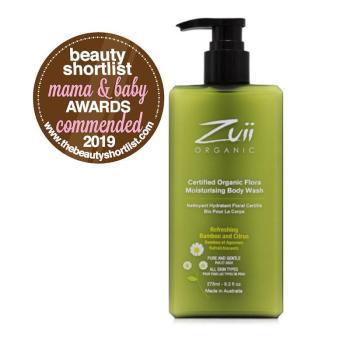 Zuii Organic Flora Moisturising Body Wash product image | Slow Beauty Eco Salon | Canberra