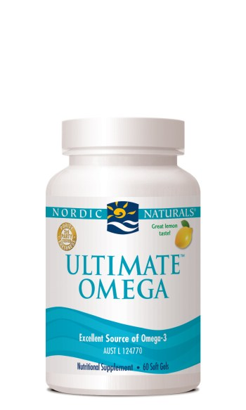Nordic Naturals Ultimate Omega Capsules at Slow Beauty Eco Salon in Canberra