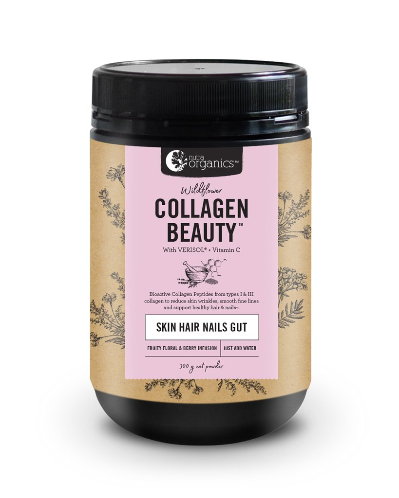Nutra Organics Wildflower Collagen Beauty at Slow Beauty Eco Salon in Canberra