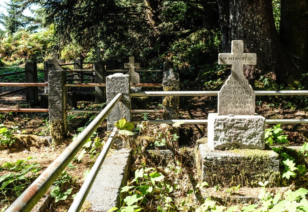 Friendly Cove/Yuquot cemetery