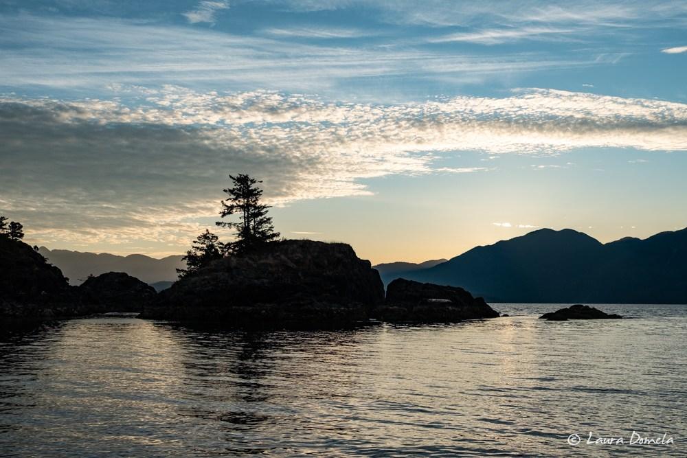 Sunrise at Friendly Cove