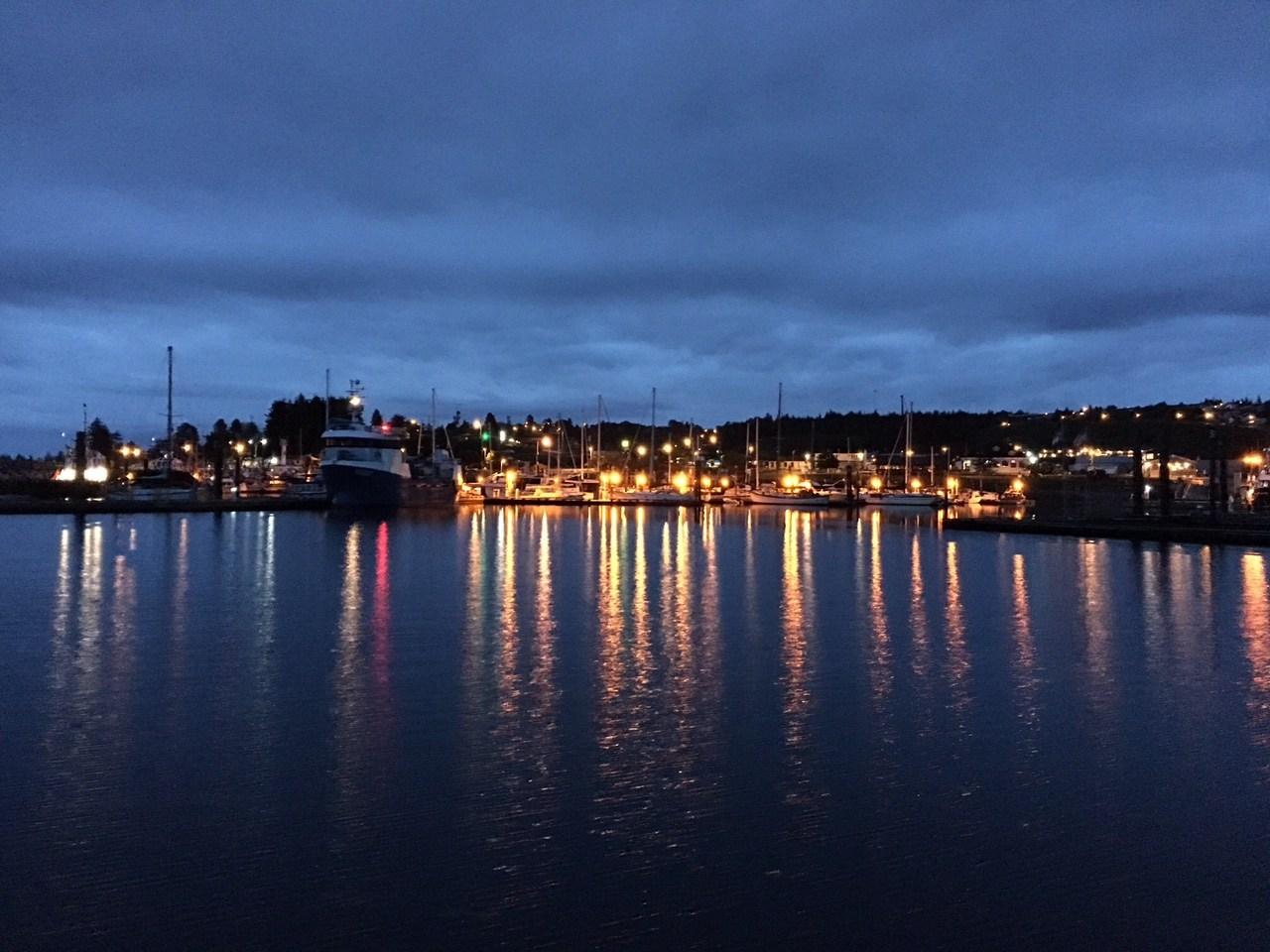 Port McNeill at 5am