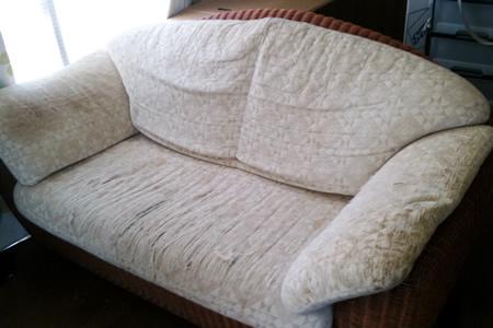 15年愛用のソファー