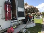 Lamanai campsite