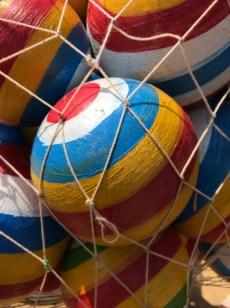 hand painted balls
