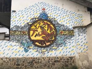 mayan mural