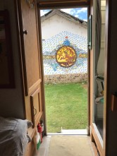 mural out the door