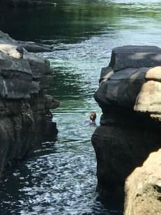 panama river swimmer