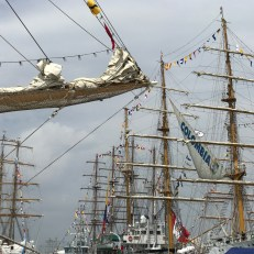 tall ships on show