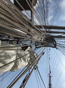 tall ships rigging