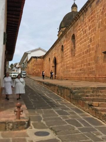 barichara street nuns