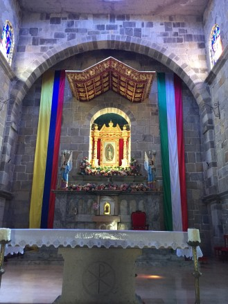 a church altar