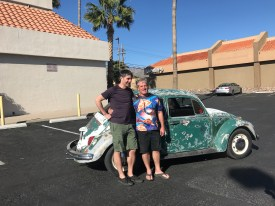 brothers with vw bug.JPG