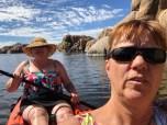 kayak selfie
