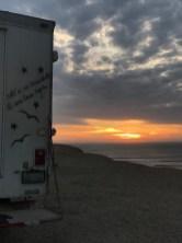 puerto chicama sunset