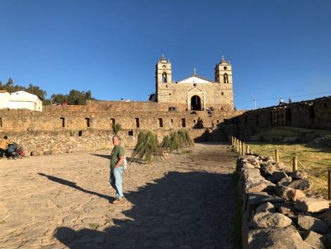 vilcashuaman church on inca ruins.JPG