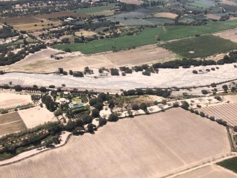 nasca airplane puquios aqueducts