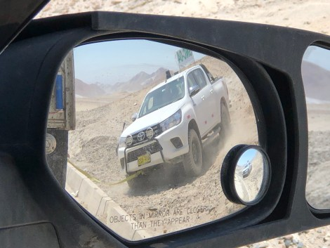 pulling a guy out of the sand
