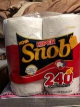 paper towel snob
