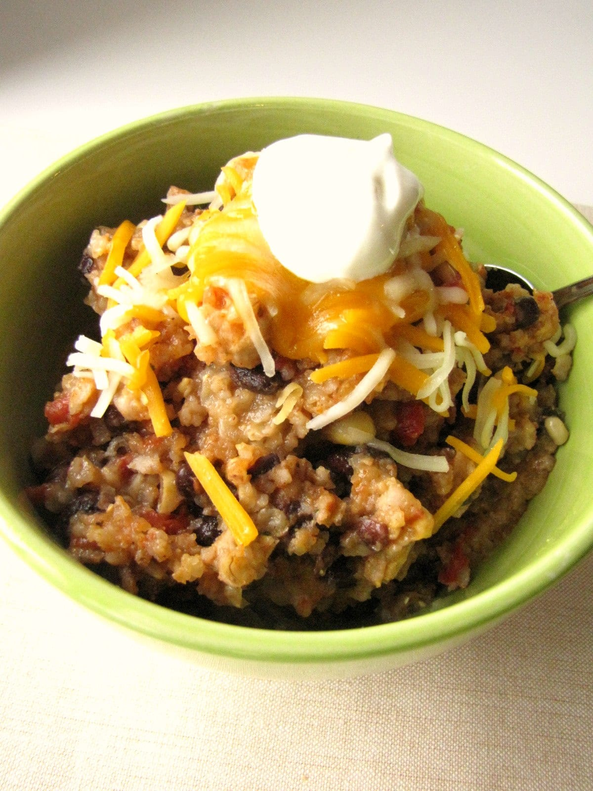 Slow Cooker Spicy Enchilada Bowls