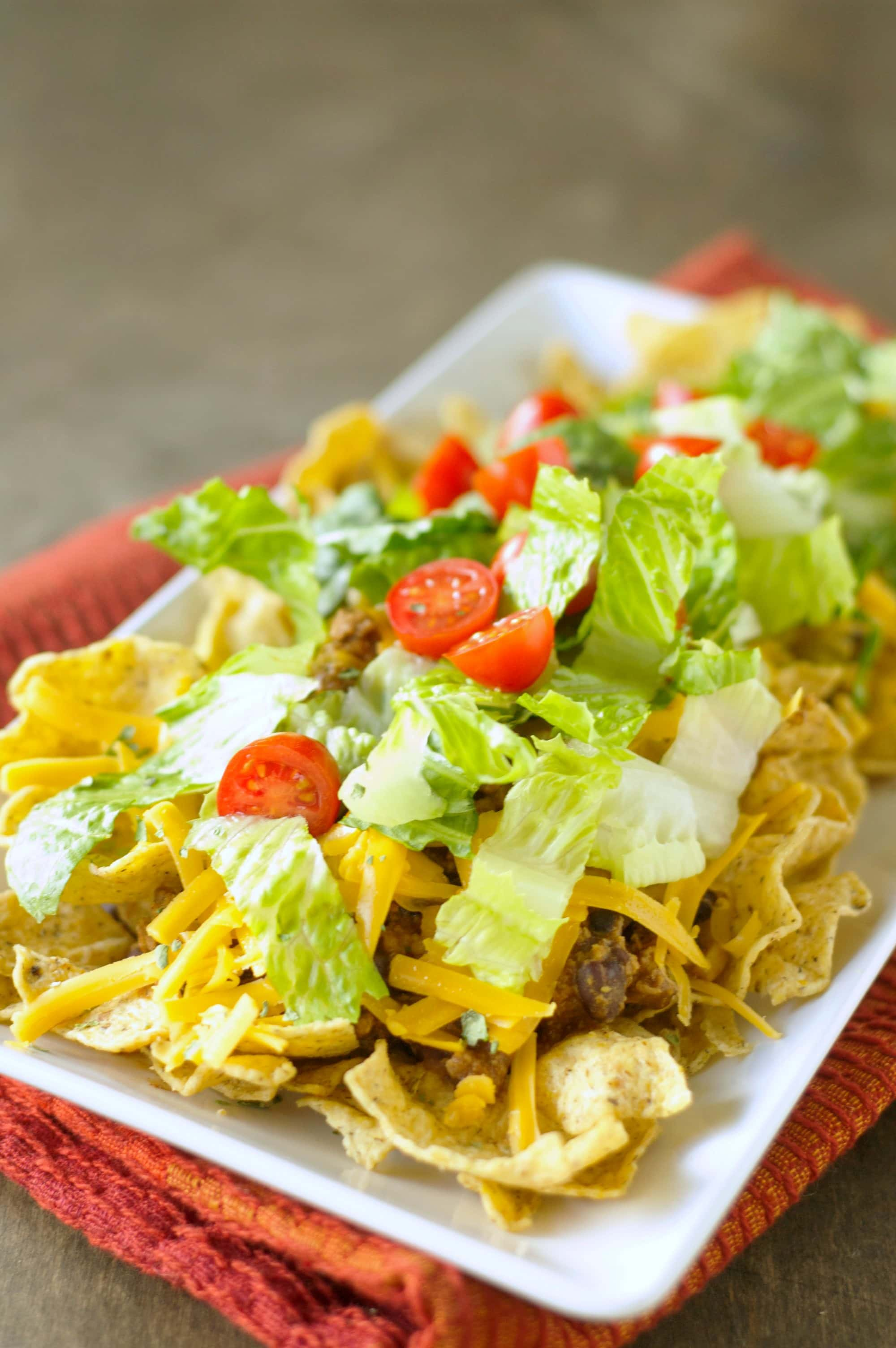 Slow Cooker Turkey Taco Salad