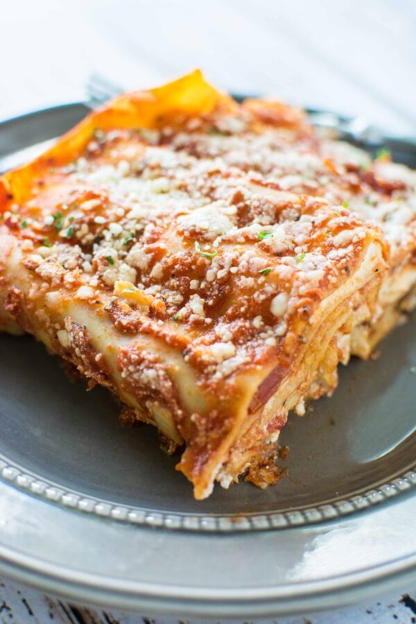 3 Ingredient Slow Cooker Lasagna
