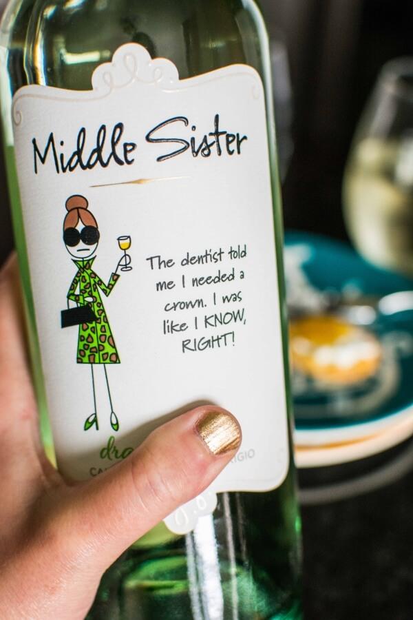 Middle Sister Wine Tasting