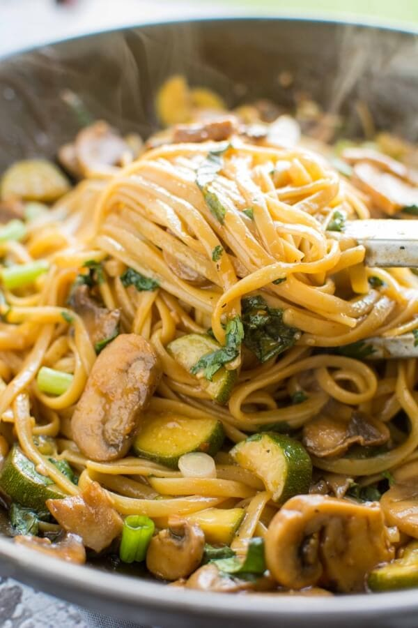 Sweet and Spicy Asian Noodles