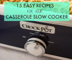 Slow Cooker Casserole Slow Cooker