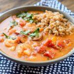 Slow Cooker Spicy Gumbo