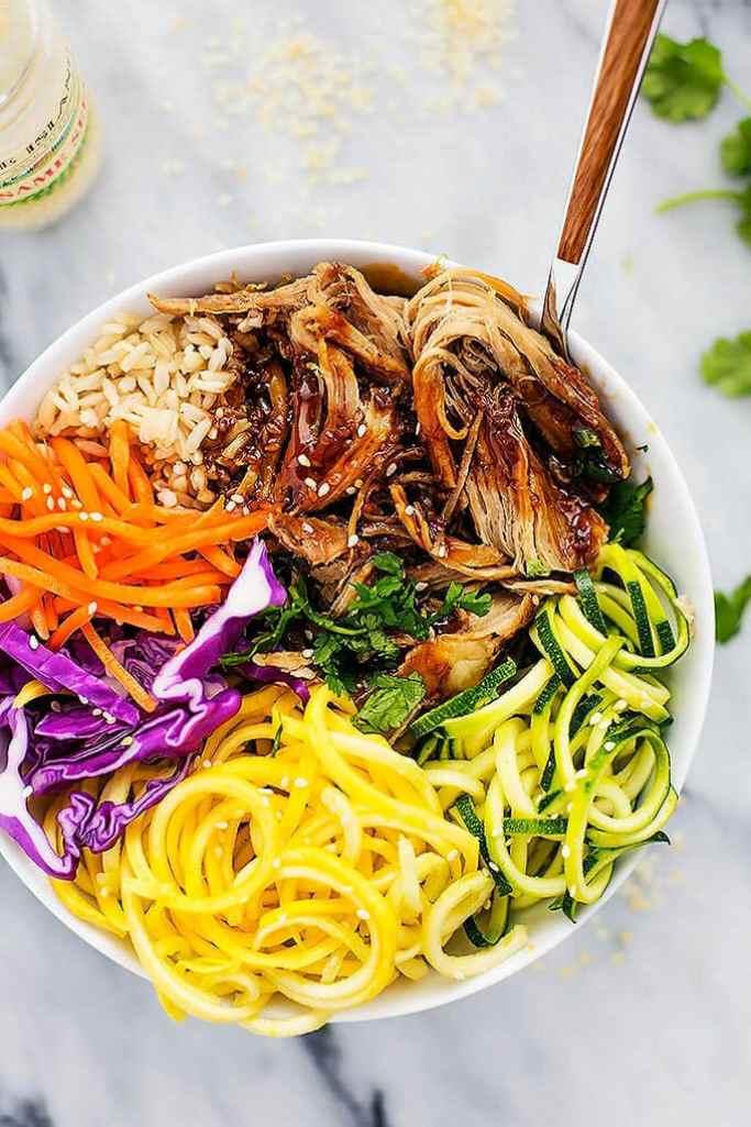 Luau Pork Rice Bowls