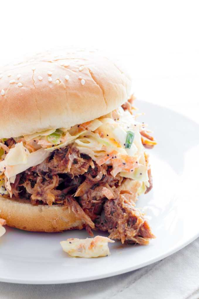 Slow Cooker Apple Butter Pulled Pork
