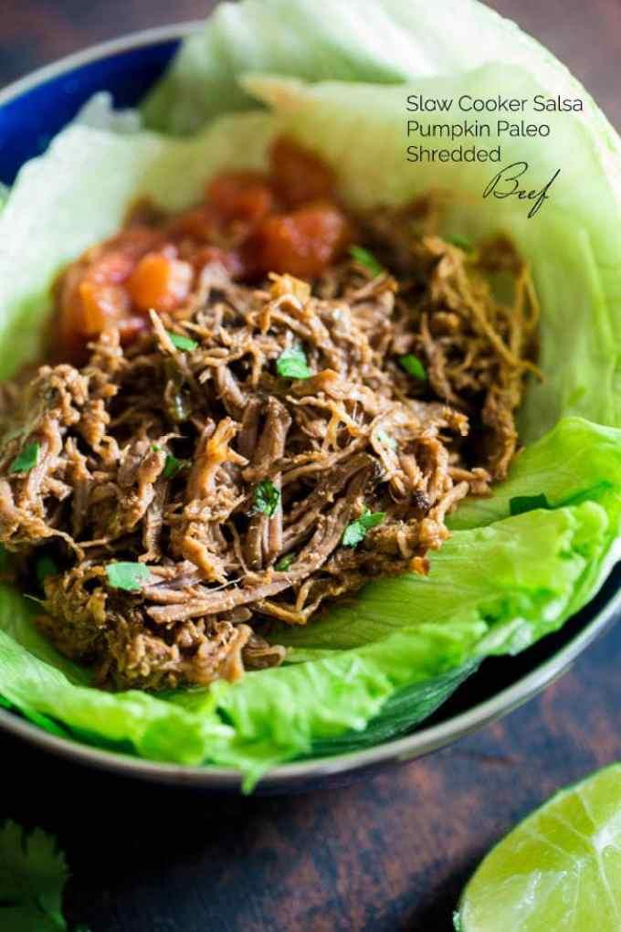 Slow COoker Salsa Beef