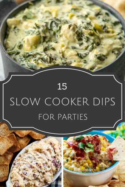 15 Slow Cooker Dip Recipes for Parties