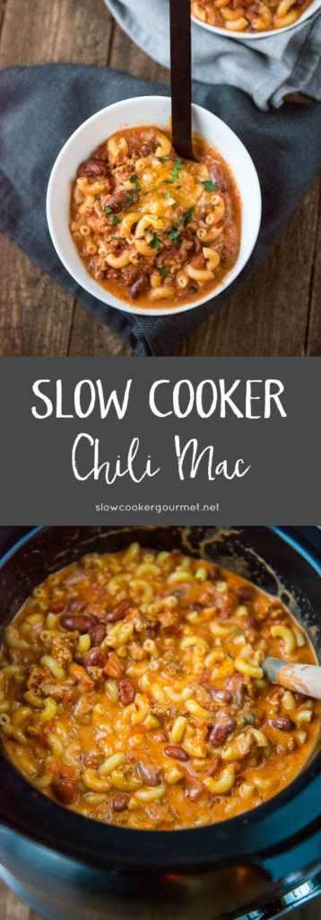 Slow Cooker Chili Mac