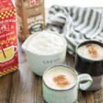Slow Cooker Eggnog Lattes