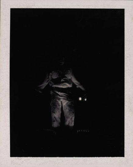 """Fred's Ghost"" 1998, Original Polaroid, 3.25""x4.25"""