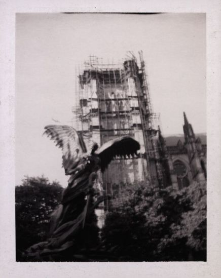 """St. John"" 1998, Original Polaroid, 3.25""x4.25"""