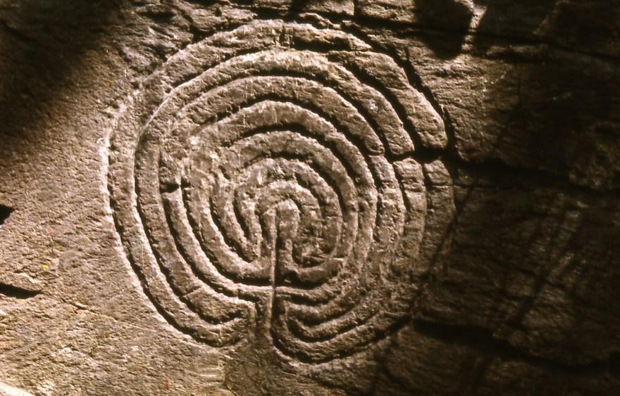 Rocky Valley labyrinth Tintagel
