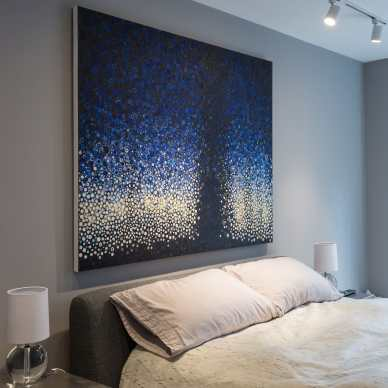 "Feeling sleepy? | The painting ""Late"" by Randall Stoltzfus found a resting place in this art collector's home"