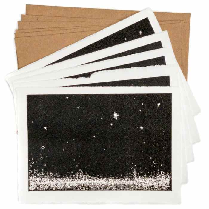 """Send Gratitude   Set of Five 5 by 7 prints of""""Gratitude"""" by Randall Stoltzfus"""