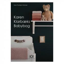Karen Klarbæk babybog opskrift strikkeopskrift hækleopskrift baby økologisk bomuldsgarn