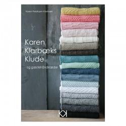 Strikkede karklude strikkeopskrift Karen Klarbæk Økolgogisk garn