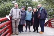 Pat McNerthney and WSN members Luciana Scrutchen, Sheri McNerthney, Yoshiko Wada and Catharine Ellis