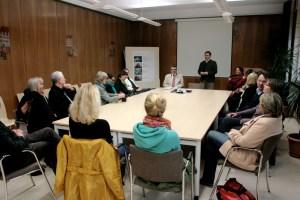 Einführung im Sitzungssaal