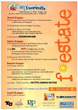 festate locandina 2012