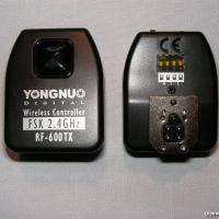 YONGNUO Funkfernbedienung für Blitzlicht, Distanz und Kamera