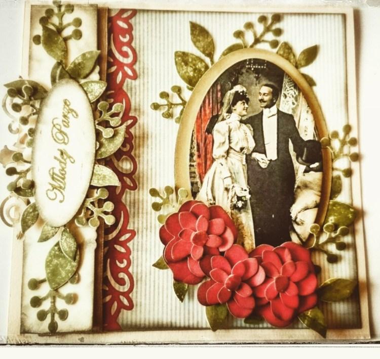 Kartka dla młodej pary