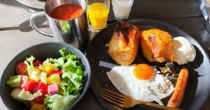 GRAX HANARE 朝食